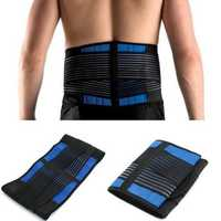 Neoprene Lower Back Support Compression Brace Pull Lumbar Disc Herniation Pain Relief Belt
