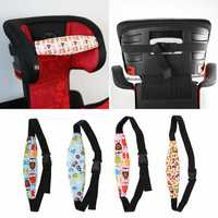 Kid Child Safety Seat Belt Sleep Nap Aid Head Fasten Support Holder Belt Eliminates Pressure
