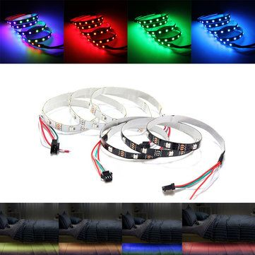 1M Non Waterproof WS2812 WS2812B RGB 30 LED Strip Light Individually Addressable 5V