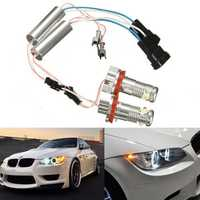 Angel Eye Halo LED Light H8 Head Connector For BMW E92 E93 E90 E82 E60 X5 X6 Z4