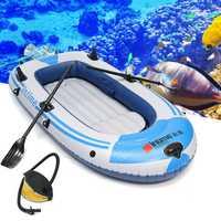 2/3 Person Inflatable Boat PVC Kayak Fishing Boat Life Raft Loading 180kg