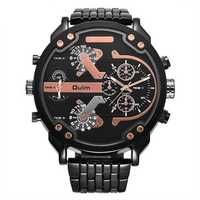 OULM 3548 Unique Design Full Steel Men Wrist Watch