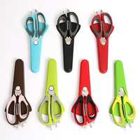 Multi-function Food Scissor Cutting Chicken Fish Food Knife Kitchen Barbecue Refrigerator Scissor