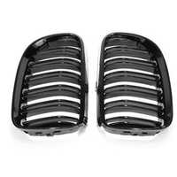 Gloss Black Front Kidney Grill Grille For BMW E92 E93 2010-2014