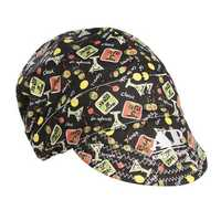 56cm to 64cm Adjustable Sweat Absorption Elastic Welding Hat Cap Helmet Soft Cotton Happy Hour