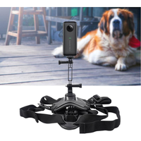STARTRC Dog Harness Mount Chest Strap Mount Holderfor Insta360 ONE X or EVO Action Camera