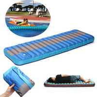 IPRee® Outdooors Camping Inflatable Mat Portable Sleeping Mattress Moisture Proof Pad
