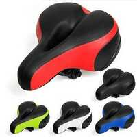 BIKIGHT Wide Big Road Mountain MTB Saddle Bike Bicycle Cycling Seat Soft Cushion