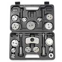 19Pcs Brake Caliper Piston Rewind Back Tools Kit Brake Disc Remover Car Service