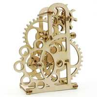 3D Mechanical Model Dynamometer Brain Teaser Wooden Puzzle Toys Ideal Birthday Creative Gift
