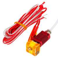 MK10 Assembled Extruder Hot End Kit 1.75mm 0.4mm Nozzle For Creality 3D CR-10