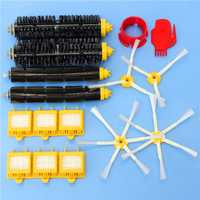16pcs Vacuum Cleaner Accessory Kit Filters and Brushes for iRobot Roomba 700 Series