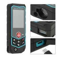 Mileseey 60m 80m 100m R2 Series Portable Laser Rangefinder Range Finder Distance Area Volume Meter Tester Too