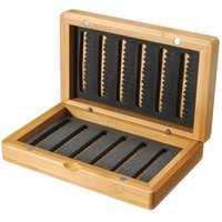 Vintage Classic Bamboo Fly Fishing Flies Pocket Box