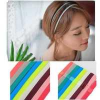 Men & Women Hair Accessories Yoga Sports Gym Stretch Headbandd Hair Rope Anti-slip Elastic Band