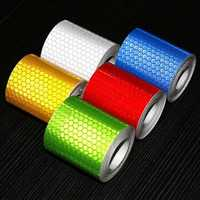 BIKIGHT 3m Reflective Bicycle Stickers Cycling Decals Adhesive Tape For Bike Safety Bicycle Accessories