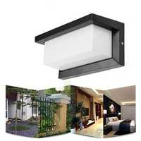 10W Warm White/White Waterproof LED Wall Lamp Outdoor Courtyard Garden Corridor Light AC90-265V