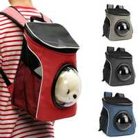 30 x 24 x 35cm Carrier Dog Cat Backpack Space Capsule Shaped Pet Travel Portable Bag