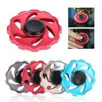 Wind Wheel Fidget Hand Spinner EDC Attention Stress Relief Toys Fingers Gyro Children Gift