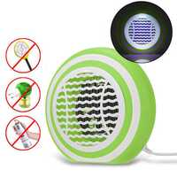 3W LED USB Mosquito Dispeller Repeller Mosquito Killer Lamp Bulb Electric Bug Insect Zapper Pest Trap Light For Yard Outdoor Camping