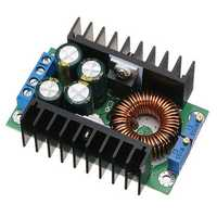 DC-DC 8A 300W Buck Adjustable Constant Voltage Constant Current High Power Solar Charging LED Driver Vehicle Power Supply Module Converter