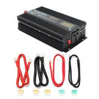 1000W Car Modified Sine Wave Power Inverter Converter DC 12V/24V To AC 220V LCD