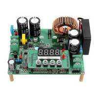 DKP6012 12A 720W 60V CNC Adjustable DC-DC Programmable Digital Step Down Buck Constant Voltage Current Power Supply Module Voltage Capacity Meter