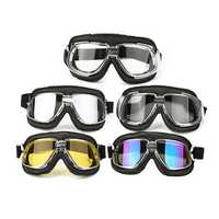 Motorcycle Goggles Motor Bike Flying Scooter Helmet Glasses Goggle Anti UV