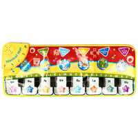5 Modes Musical Kid Piano Toddler Play Mat Baby Animal Educational Toys