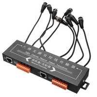 BZX-810 8 Channel 8CH Active Video Balun CCTV Camera UTP CAT5 1U UTP Video Transceiver