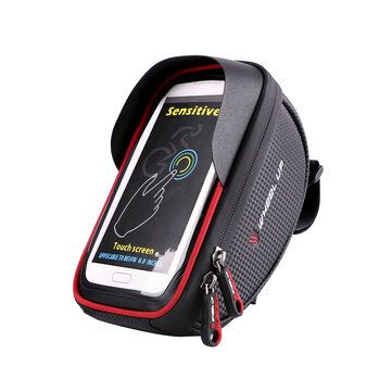 6inch Waterproof Touch Sceen Mobile Phone GPS Bag Handlebar Mouting