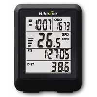 Bikevee BKV-9002 Wireless 11 Functions 4 Lines Display Bike Computer Bicycle Odometer Power Meter