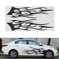 149cm*42cm Sports Stripe Pattern Style Car Stickers Vinyl Decal for Race SUV Side Body
