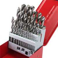 38pcs 1-13mm HSS Twist Drill Bit Set with Case