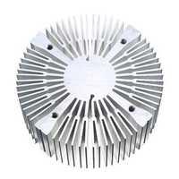 90*40mm Round Shape Aluminium Heatsink for 20W 30W 50W 100W High Power LED Bead