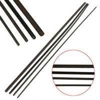 Grade 12.9 Carbon Steel Black Threaded Metal Rod M2/M2.5/M3/M4 Length 250MM