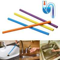 12Pcs/Pack Bathroom Clean Sewer Device Deodorant Sticks Keep Drain Pipes Clean Bar Odor Kitchen Toilet Sewage Tool