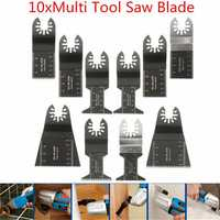 10pcs Multitool Saw Blade Accessories For Dewalt Stanley Black and Decker Bosch Multitool
