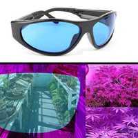 Grow Light Plant Room Tent Glasses Anti UV Protection Eyewear Indoor Greenhouse Hydroponics Goggles