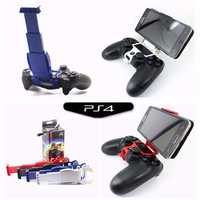 Clamp Cell Phone Smart Clip Holder Handle Bracket Support Stand For PS4 Play Station 4 Controller