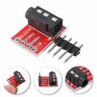 20pcs 3.5mm Plug Jack Stereo TRRS Headset Audio Socket Breakout Board Extension Module
