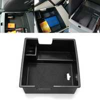 Car Armrest Console Storage Box Organizer Tray for Ford Everest 15-17