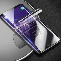 Cafele Clear 3D Curved Edge Self-repairing Hydrogel Phone Screen Protector With Tools For Samsung Galaxy S9