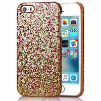 Fantastic Glitter Slim Hard Shockproof Protective Cover For iPhone 5 5S 4 Inch