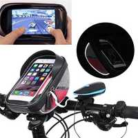 Wheelup Outdoor Touch Screen Waterproof Reflective Edge Bicycle Handlebar Protective Storage Bag