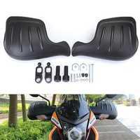 Motorcycle Handguard Hand Guard Wind Deflector Protector Shield Black