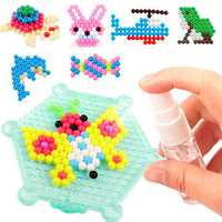 Water Spray Magic Beads DIY Kit 10 Colors Ball Puzzle Game Fun Developmental Toy Gift