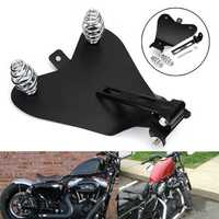 3inch Solo Spring Mounting Kit & Motorcycle Seat Baseplate Bracket For Harley Bobber Chopper
