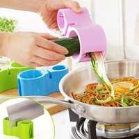 2 Blades Vegetable Spiral Slicer Vegetable Peeler Cutter Cucumber Carrot Veggie Julienne Tool Fruit Slicing Tools