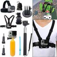 10 in 1 Accessories Kit for GoPro Hero 5 4 Session 3+ 3 xiaoyi sjcam